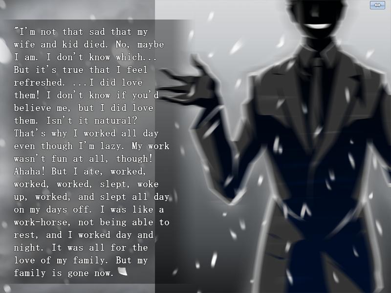 Image result for swan song screenshot visual novel